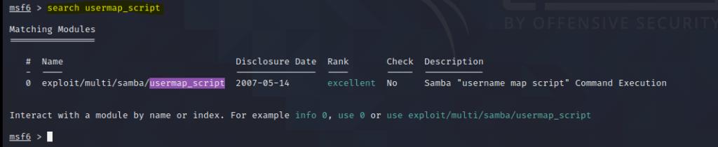search usermap_script